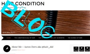 blog - Click to reach my BLOG about hair condition