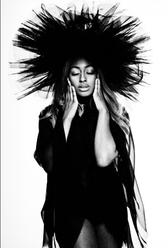 aLExandra Burke hair by Aaron Dorn shot by Simon Harris
