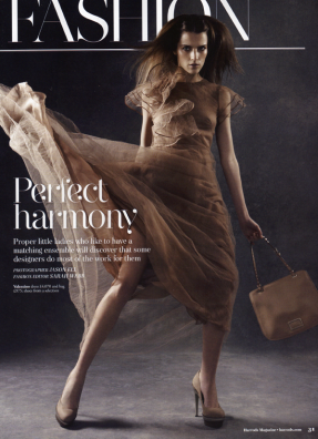 shot by jason-ell for harrods hair by aaron dorn