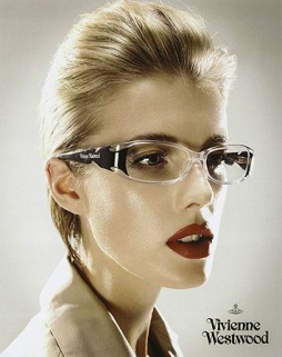 Agyness Deyn shot by perou for vivvienne westwood